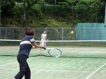 敷地内・テニスコート(予約制)