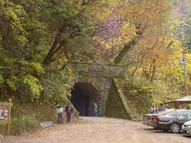 国重要文化財に指定されている旧天城トンネル(天城隧道)