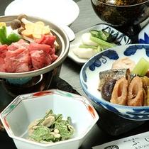 *【竹プランお料理一例】秋田の旬の食材を厳選し、日替わりメニューにてお召し上がりいただきます。