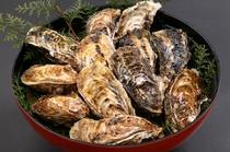 焼き牡蠣大皿盛り