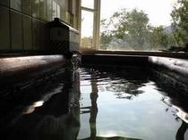 2008年にリニューアルした貸切風呂。