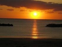 千鳥ヶ浜からの日の出