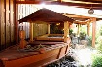 檜の屋形舟風呂・殿方用