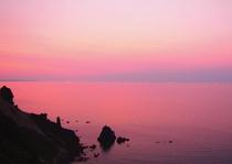 海に沈む夕陽