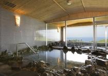海水を使用した大浴場「眺海」