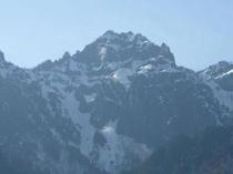 錫杖岳 2168m