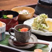 *【春の新・奥飛騨懐石】春ならではの食材をおいしくご提供いたします