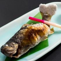 【岩魚の塩焼き】