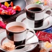 コーヒー&お菓子サービス