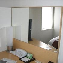 【客室内設備】鏡