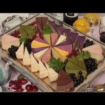 山里の恵みの果実チーズケーキ 全体