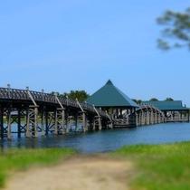 鶴田町鶴の舞橋