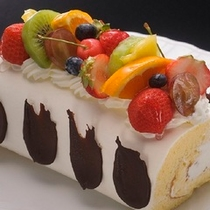 お祝いプラン バースデーケーキ