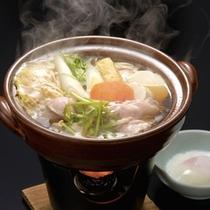 青森県産銘柄鶏「桜姫鳥」すきやき