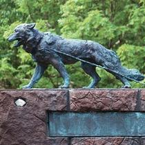 南極観測樺太犬記念碑