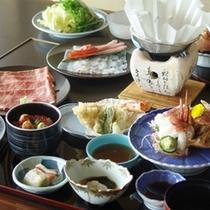 タコ&蟹しゃぶor宗谷黒牛しゃぶ!(イメージ)