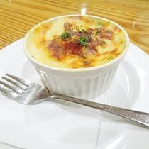 *[夕食一例/季節のグラタン]クリーミーで濃厚なソースと旬の食材の競演。