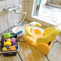 *[貸切風呂]浴室用ベビー椅子、おもちゃ、赤ちゃん用シャンプー完備。