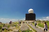 車山山頂気象レーダー