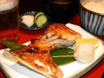 【まぐろや はなの夢】焼き魚定食