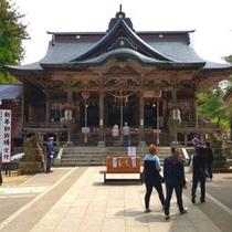 蒼柴神社 社殿は幾度かの戦火にも燃えることなく当時の姿をそのまま残しています。(車で5分)