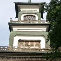 当館から徒歩15分★前田利家公と正室おまつの方を祀ってある「尾山神社」神門