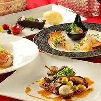 洋食コース料理(イメージ)