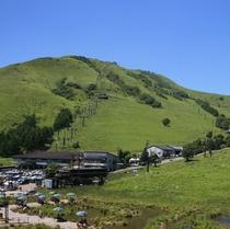 車山高原 夏山リフト