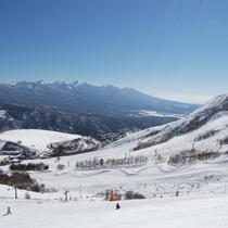 車山高原スキー場(パノラマコース)