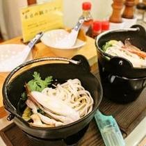 朝食メニュ★寒い季節に嬉しい鍋料理