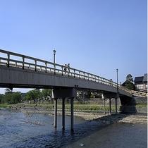 浅野川 梅の橋