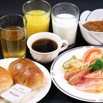 【朝食バイキング 洋食一例】
