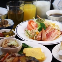 【朝食バイキング 一例】