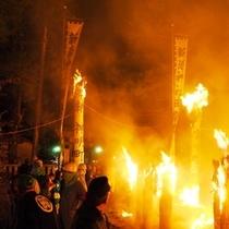 『黒部 たいまつ祭り』