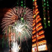 『じゃんとこい 魚津祭り 大花火』