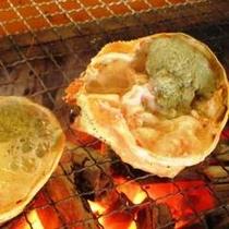 『カニ味噌甲羅焼き』