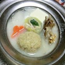 ■白菜湯葉まき豆乳スープ一例