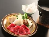 信州牛&きのこ タップリ♪すき焼き鍋。