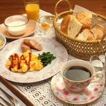 朝食 全体