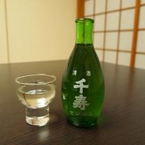 岡山の地酒「千寿」 2階和食処「あくら」にございます