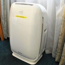 加湿機能付き空気清浄器 全室完備