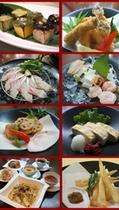 レストラン「万咲」ディナー2