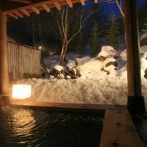 雪見露天風呂1