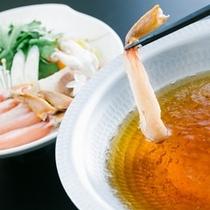 かにすき鍋(3泊目から選択可能)※イメージ