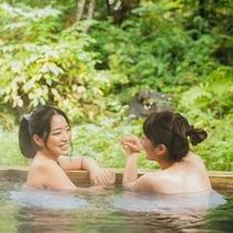 大浴場露天風呂♪