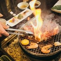 県産黒毛和牛炙り焼き(イメージ)
