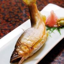 ■季節の川魚の塩焼き
