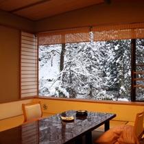 客室一例(冬)