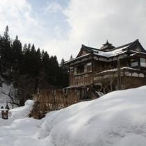 【外観】残雪