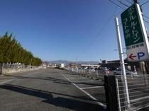 セブンイレブンも近くにあり、意外と便利な第二駐車場